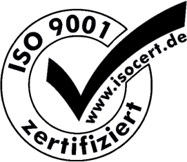 DIN ISO 9001 Registered